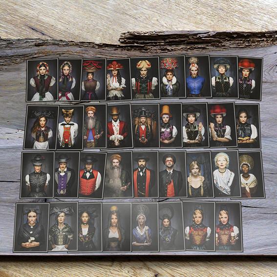 "Postkarten alle Motive ""Facing I Tradition"""