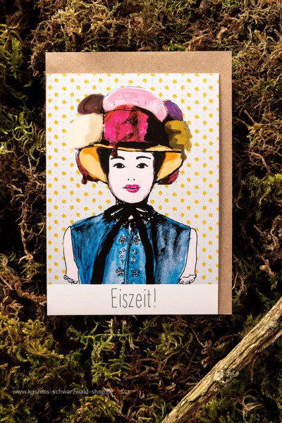 "Postkarte ""Eiszeit Maidli"""