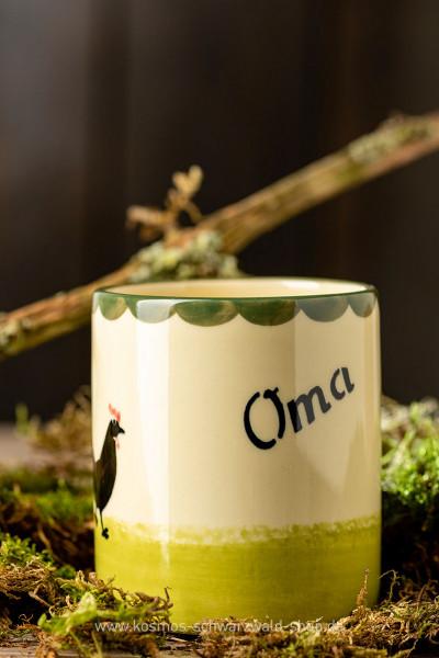 """Tasse """"Oma"""" Hahn & Henne Zeller Keramik"""