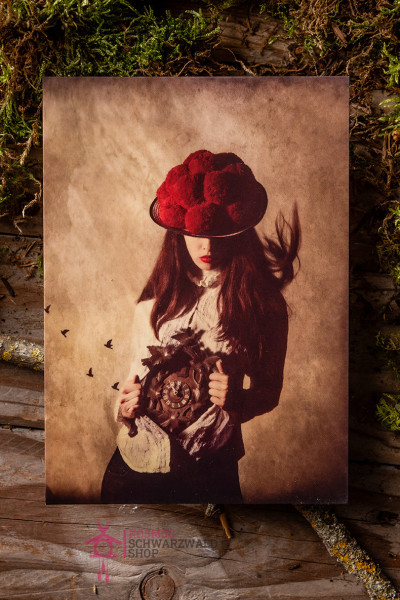 "Postkarte ""Roots in Red series Nr.1"