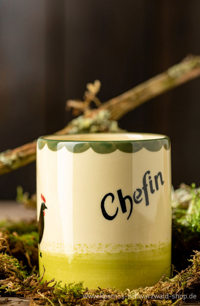 "Tasse ""Chefin"" Hahn & Henne Zeller Keramik"