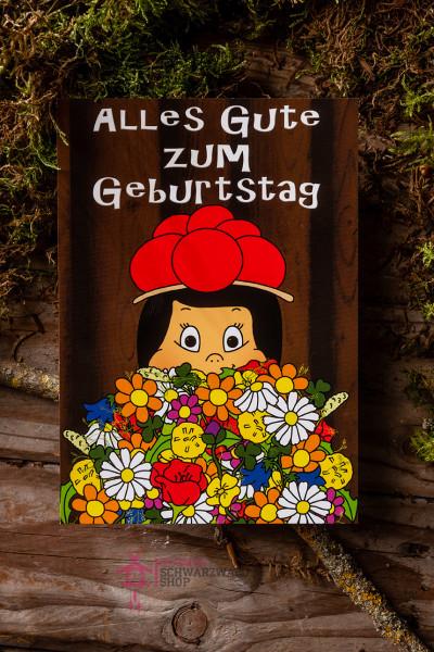 """Postkarte Anni Alles Gute zum Geburtstag"""