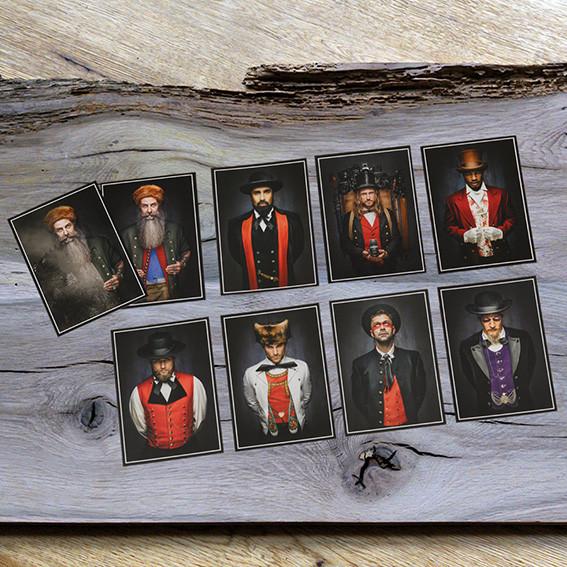 """""""Postkarten alle Mannsbilder"""""""