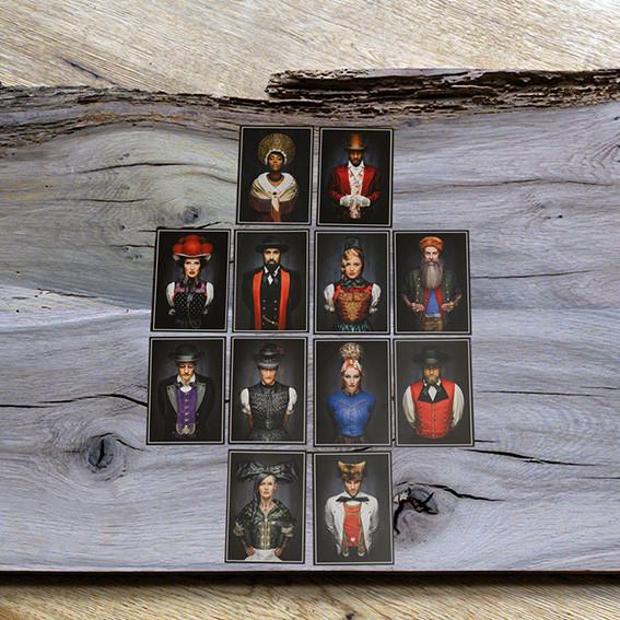 """Postkarten Facing I Tradition ewig uns"""