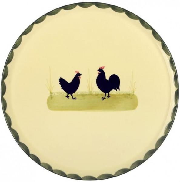 """Tortenplatte Hahn & Henne Zeller Keramik"""