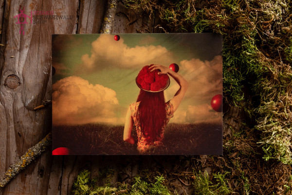 "Postkarte ""Roots in Red series Nr. 2"""