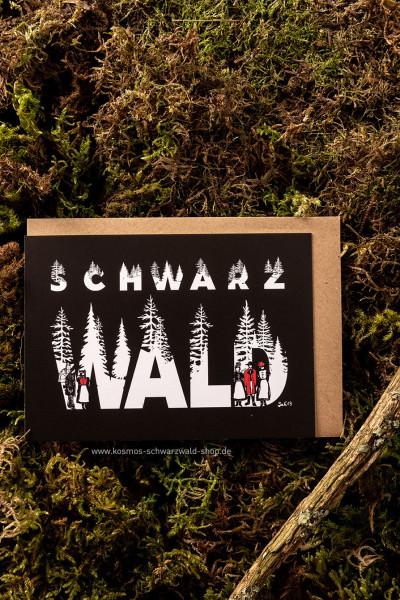 """Postkarte """"Schwarzwald"""""""