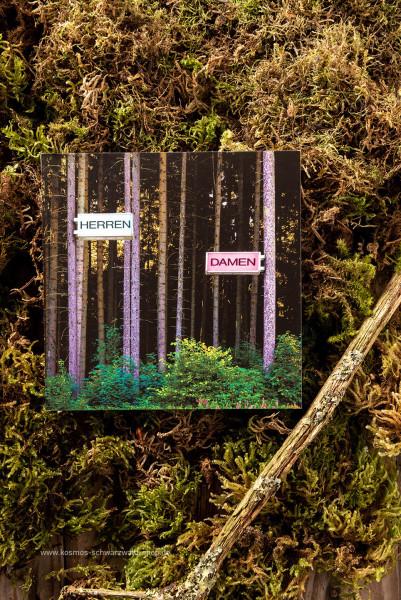"""Postkarte """"Herren & Damen """""""
