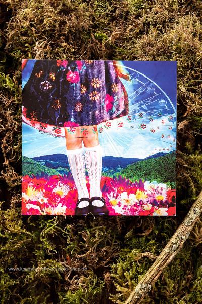 """Postkarte """"Taken"""""""