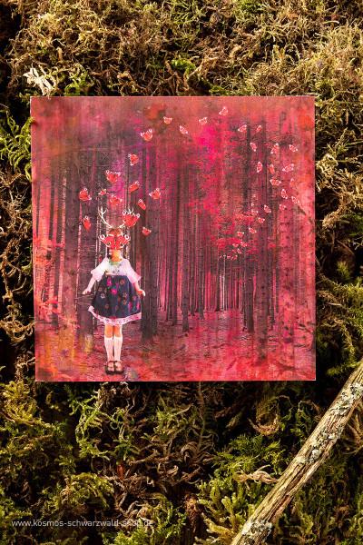 """Postkarte """"The Waltz"""""""