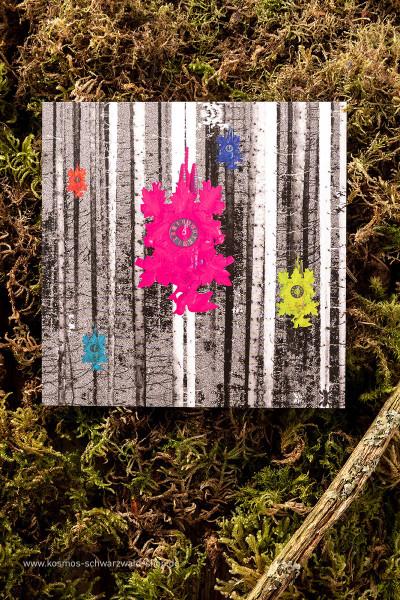 "Postkarte ""Ticking"""