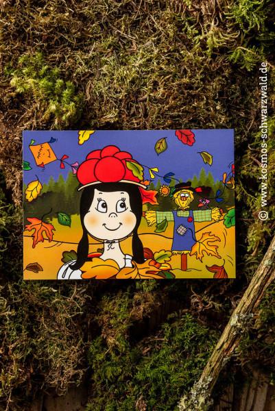 """""""Anni"""" Postkarte """"Herbst"""""""