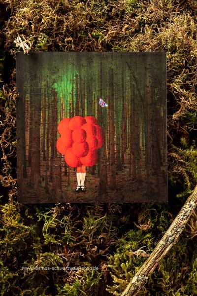 """Postkarte """"Head in the Clouds"""""""