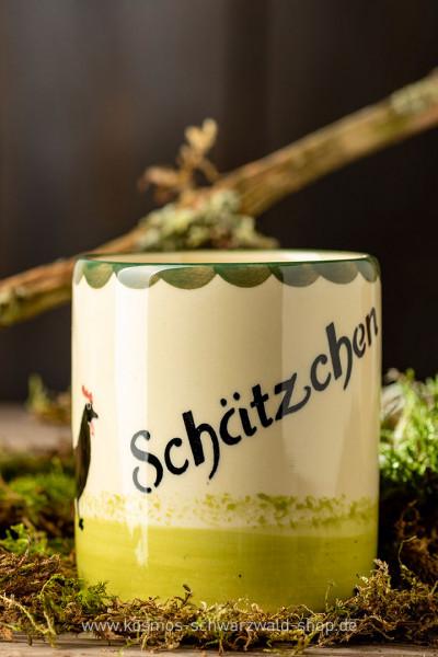 """Tasse """"Schätzchen"""" Hahn & Henne Zeller Keramik"""